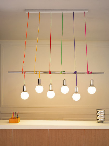 Idea barra suspension by Vesoi | General lighting
