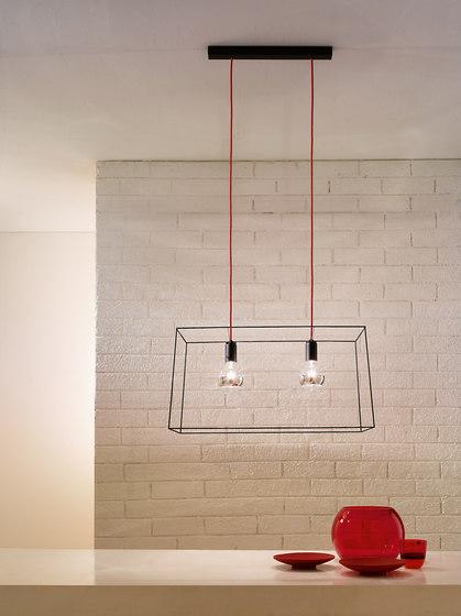 Idea twin suspension by Vesoi | General lighting