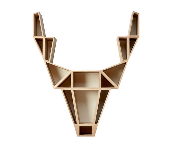 Deer shelf di BEdesign | Wall decoration