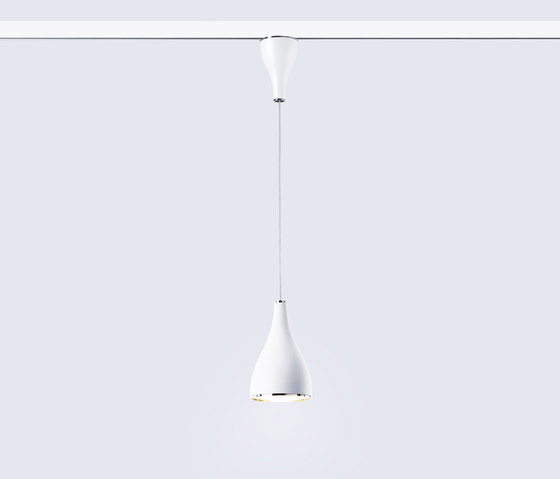 One Eighty Suspension Track Adjustable by serien.lighting | Spotlights