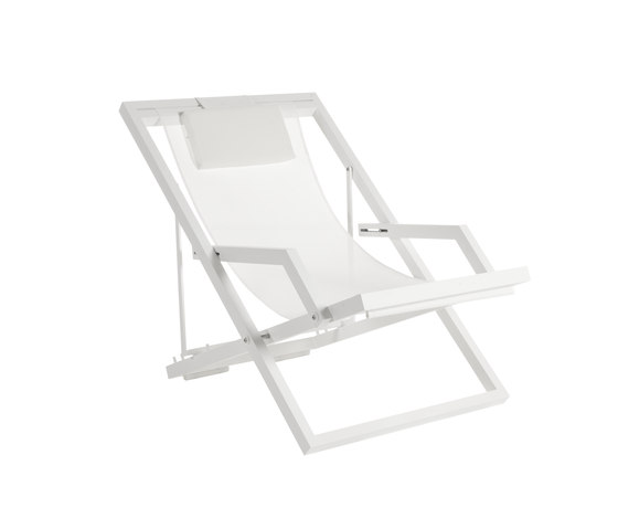 Weekend deckchair by Point | Sun loungers