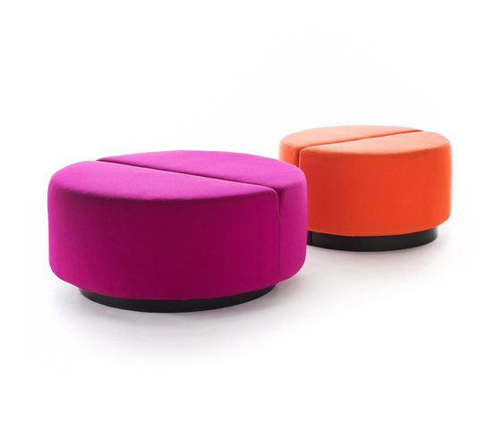 Movie pouf round by Martela | Modular seating elements
