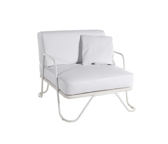 Nautic armchair by Point | Garden armchairs