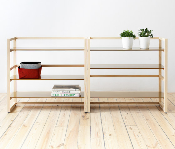 Tre Medium by Abstracta | Shelving modules