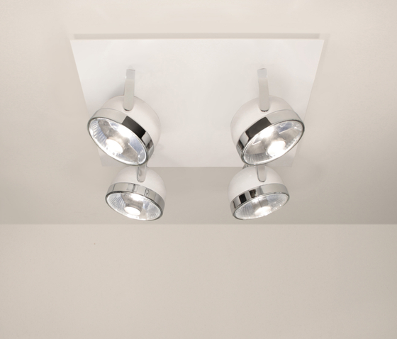 Boogie C4 Ceiling by Luz Difusión | Ceiling-mounted spotlights