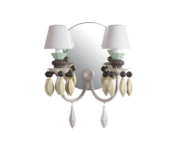 Belle de Nuit - Wall lamp (black) by Lladró | General lighting