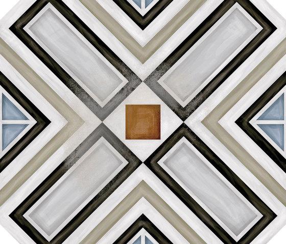 Octogono Ritter Multicolor von VIVES Cerámica | Keramik Fliesen