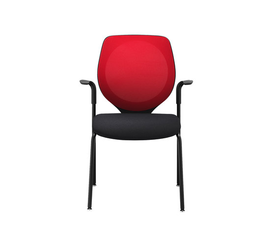 giroflex 353-7004 by giroflex | Visitors chairs / Side chairs