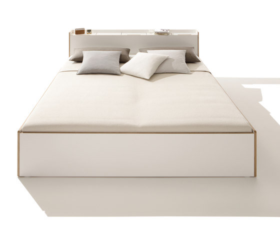 Nook double bed by Müller small living | Beds
