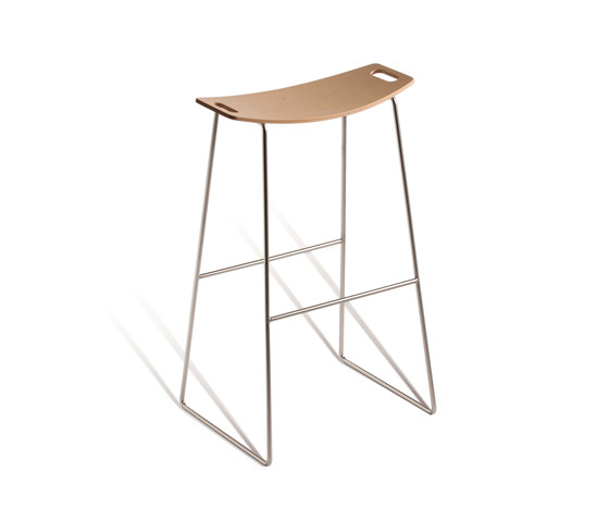 Tic 530 M by Capdell | Bar stools