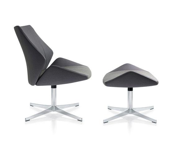 4+ Lounge | AA 181 & AA 180 by Züco | Armchairs