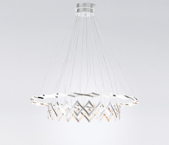 Zoom 2 elements by serien.lighting | Suspended lights