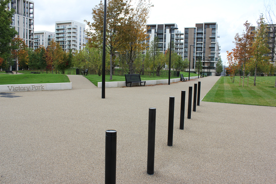Public Bollard fixed barrier post – Uni & Millenium by BURRI | Bollards