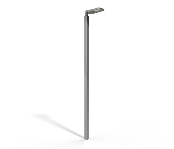 METRO light pole square by BURRI | Spotlights