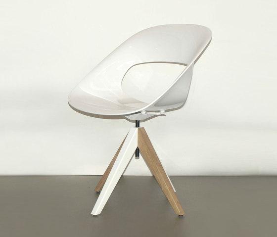 Diagonal Cross Legs Chair by dutchglobe | Chairs
