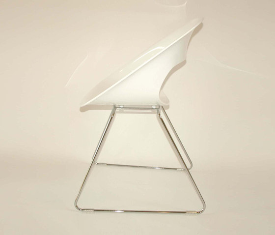 Diagonal Wire Chair di dutchglobe | Sedie visitatori