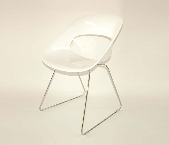 Diagonal Wire Chair de dutchglobe | Sillas de visita