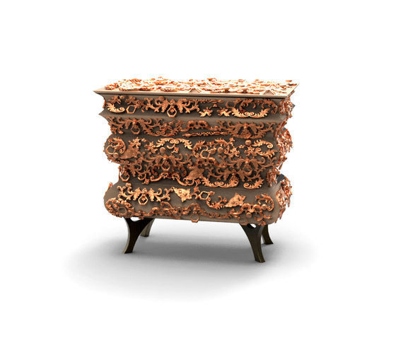 Crochet bedside table by Boca do lobo | Night stands