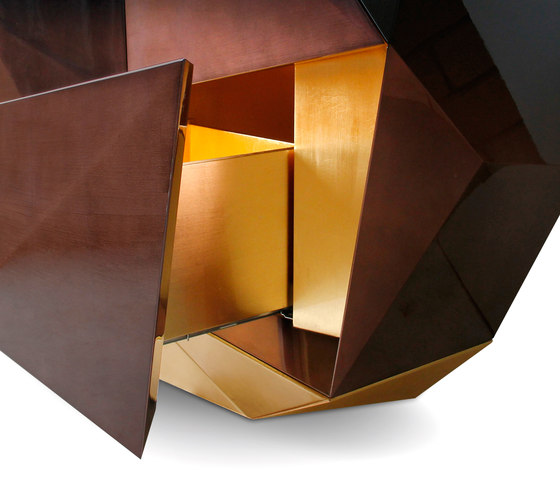 Diamond chocolate sideboard de Boca do lobo | Aparadores