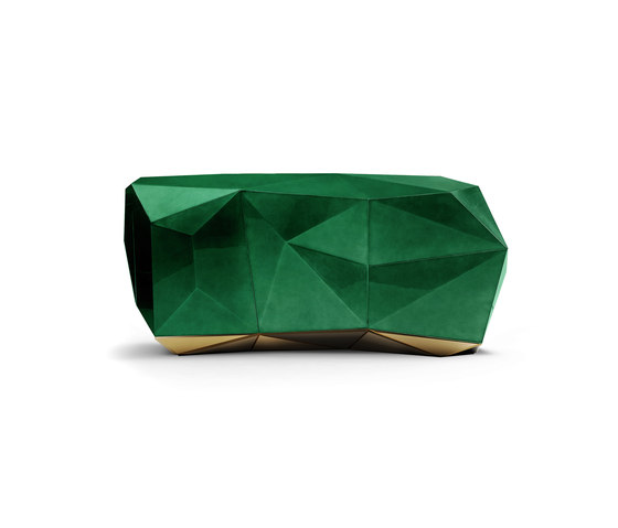 Diamond green emerald sideboard by Boca do lobo | Sideboards