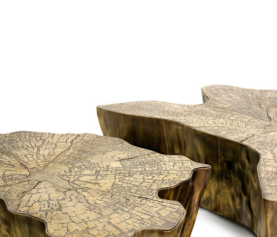 Eden patina table by Boca do lobo | Lounge tables