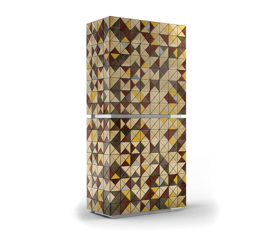 Pixel anodized cabinet by Boca do lobo | Cabinets