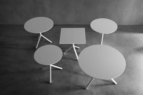 Miura round bistro table by Plank | Multipurpose tables