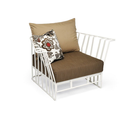 Hamptons Graphics 9731 armchair de ROBERTI outdoor pleasure | Sillones