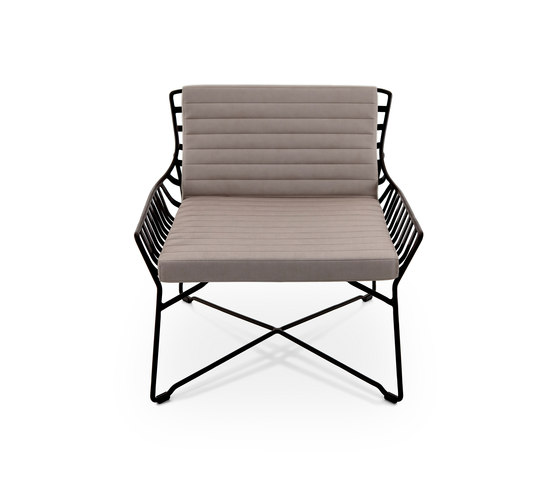 Hamptons Graphics 9733 armchair de ROBERTI outdoor pleasure | Sillones