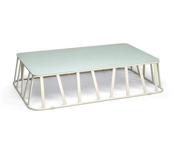 Hamptons Graphics 9736 coffee table de ROBERTI outdoor pleasure | Mesas de centro