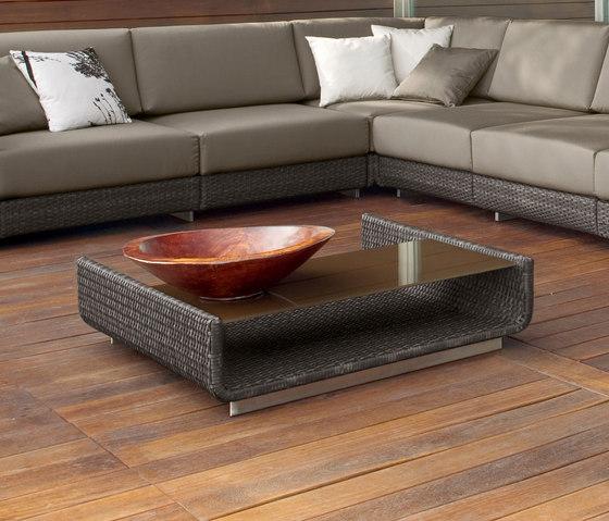 Hamptons 9607 coffee table de ROBERTI outdoor pleasure | Mesas de centro