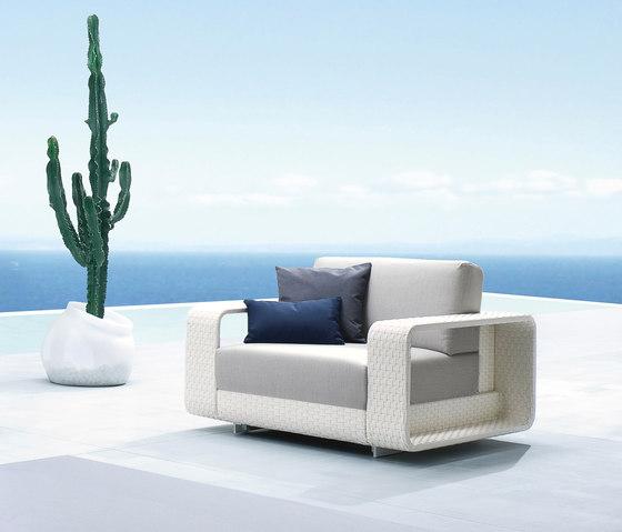 Hamptons 9611 armchair de ROBERTI outdoor pleasure | Sillones