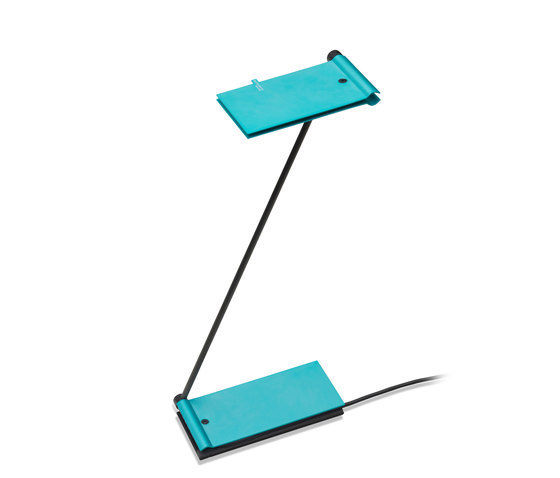 ZETT USB - Turquoise by Baltensweiler | Reading lights