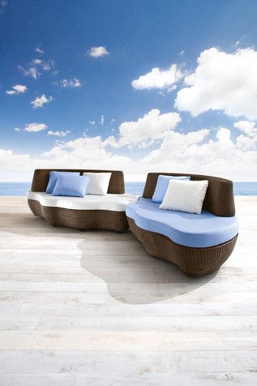 Les Iles 9591 sofa de ROBERTI outdoor pleasure | Sofás