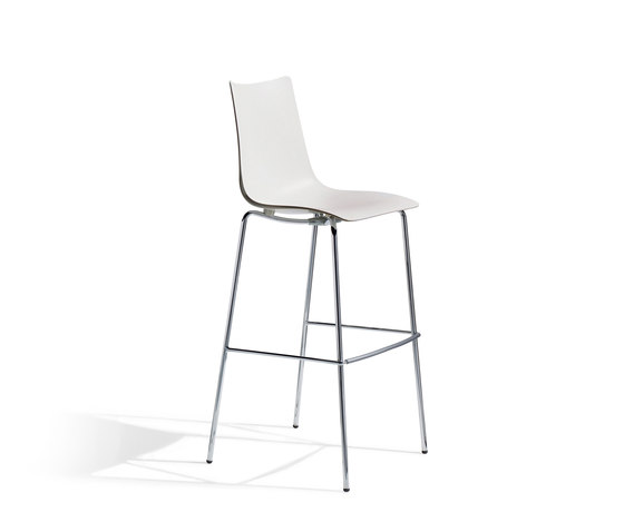 Zebra Tecnopolimero stool by Scab Design | Bar stools