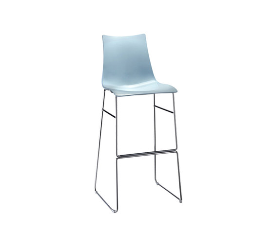 Zebra Tecnopolimero stool by Scab Design | Bar stools