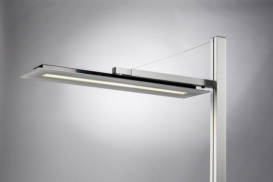 Tavona Single floor lamp by WINI Büromöbel | Task lights
