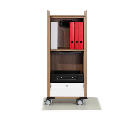 Winea Maxx Caddy by WINI Büromöbel | Pedestals