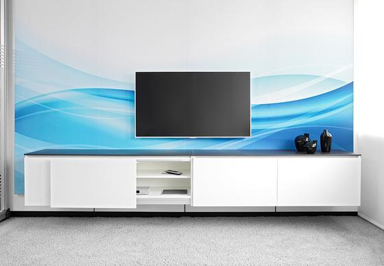 Winea Maxx Slide Sideboard de WINI Büromöbel | Meubles multimédia