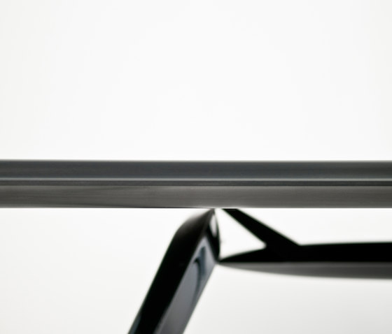 Carbon Table | black by Zieta | Dining tables