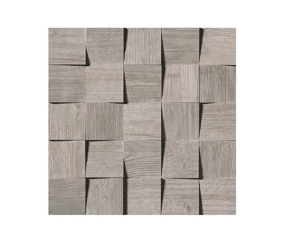 Axi Silver Fir Mosaico 3D by Atlas Concorde | Tiles