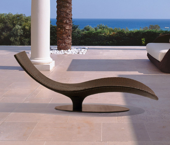 Caribe 9578 chaiselongue de ROBERTI outdoor pleasure | Bains de soleil