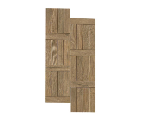 Axi Brown Chestnut Treccia by Atlas Concorde | Tiles