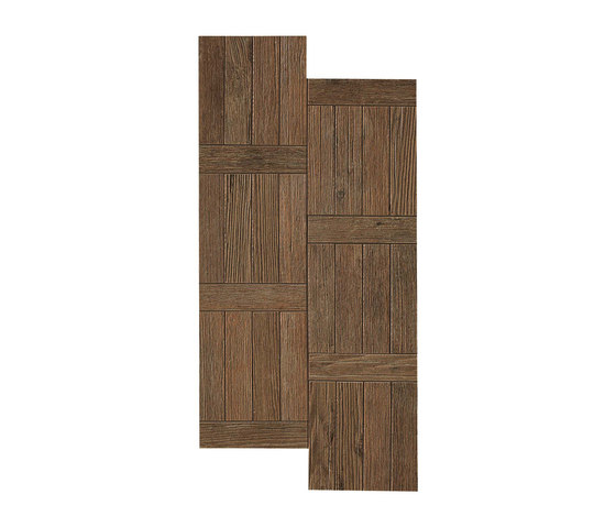 Axi Dark Oak Treccia by Atlas Concorde | Tiles