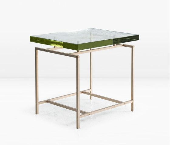 Frazier Side Table Bronze by Khouri Guzman Bunce Lininger | Side tables