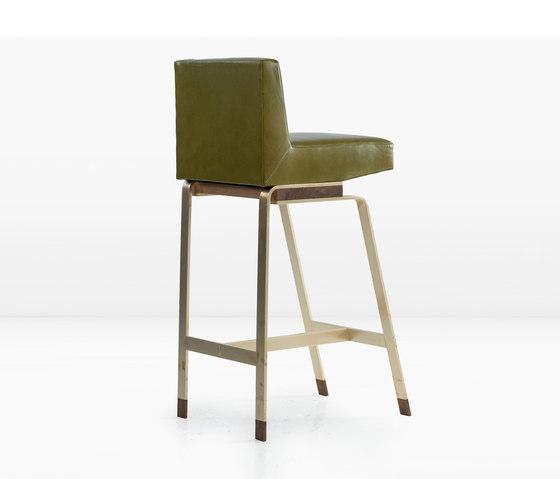 Gavilan Barstool with Back by Khouri Guzman Bunce Lininger | Bar stools