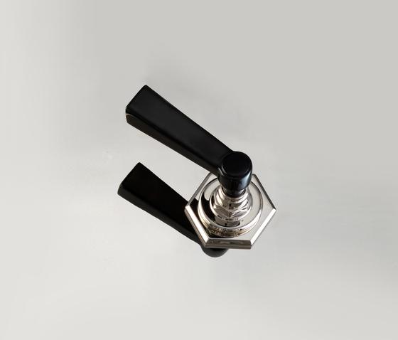 Jubilee Black Lever Deviatore di Devon&Devon | Rubinetteria per lavabi