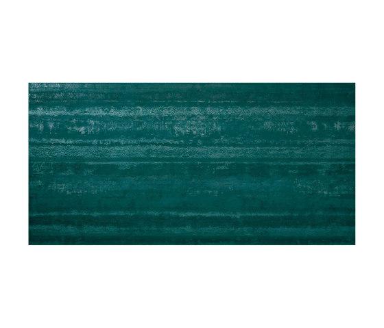 Ewall Petroleum Green Stripes de Atlas Concorde | Baldosas de cerámica