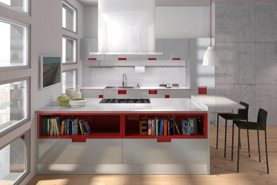 Carré by Ernestomeda | Fitted kitchens