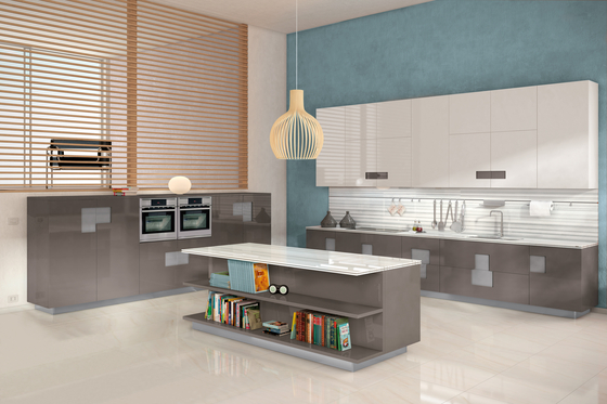 Carré by Ernestomeda   Fitted kitchens